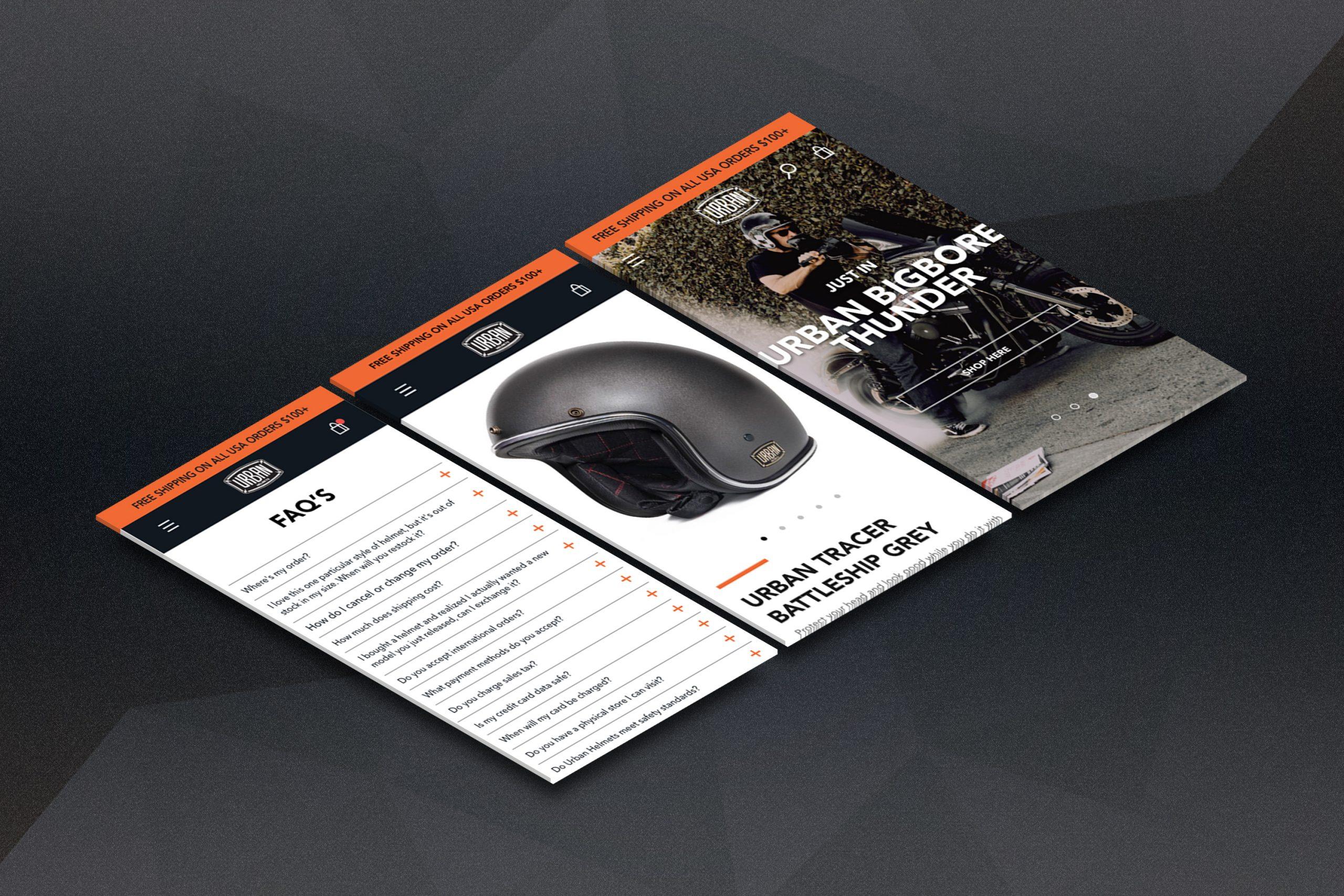 Urban Helmets - Mockups -V6